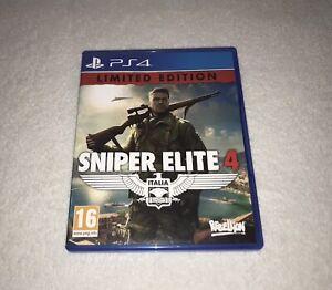 PLAYSTATION 4 / PS4 - UK PAL - SNIPER ELITE 4