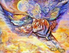 JOSEPHINE WALL FANTASY ART 'TIGERMOTH'
