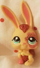 Littlest PET SHOP Rosa E Crema Glitter #2147 Coniglio, Occhi Verdi
