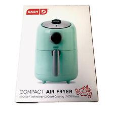 Dash Compact Air Fryer 1.2L With Air Crisp Technology - Blue