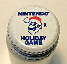 Vintage Rare Pepsi Cola Twist Lid - Nintendo Holiday Game 1989 Mario Bros. - WOW
