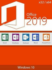Microsoft Office 2019 Pro plus professionnel Authentique Lifetime license pour Windows