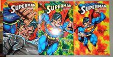 SUPERMAN DOOMSDAY HUNTER PREY 1 2 3 DC COMICS SET DAN JURGENS 1994