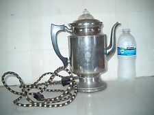 ANTIQUE HOTPOINT GENERAL ELECTRIC COFFEE POT=OVER 100 YEARS OLD!!!!!!