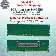 Practical 1.5V DDR3 204 Pin Laptop SO-DIMM to Desktop Lod DIMM Memory Adapter ZM