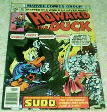 Howard the Duck 20, Fn (6.0), 1978, Sudd the Scrubbing Bubble!