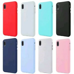 For Apple Iphone 6 6s 7 8 X XR XS 11 Pro Max TPU Silicone Gel Rubber Phone Case