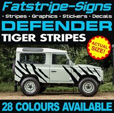 LAND ROVER DEFENDER TIGER STRIPES GRAPHICS DECAL STICKERS 4x4 2.5 90 110 127 130