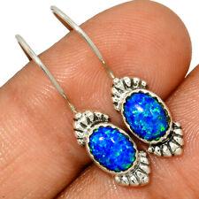 Fire Opal 925 Sterling Silver Earrings Jewelry AE150109 149V