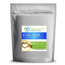 60 acido folico 400ug 200% NRV - 1 al giorno-alta qualità UK supplemento