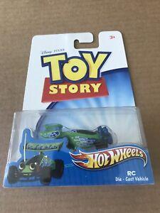 2011 Mattel Disney Pixar Hot Wheels Toy Story RC Die-Cast Vehicle RC Rare Mint