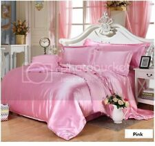 Awesome collection of silky satin pink twin XL size 1duvet cover+ 2pillow cover