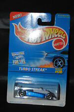 HOT WHEELS 1996 Collector No.470 - Turbo Streak - Built in Driver!