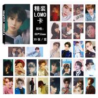 30pcs /set KPOP NCT127 NCT U JaeHyun Photo Card Poster Lomo Cards Bookmark