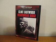 Heartbreak Ridge (DVD, 2002) - Clint Eastwood - Mint