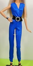 Barbie Doll New Blue Dashing Outfit with Belt Clothes Accessories Original