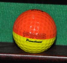 PING Bi Color Orange and Yellow Golf Ball