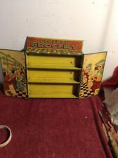 1930's 1940's Durable Toy & Novelty Corp. Tin Litho General Grocery Toy Store