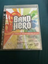 Band Hero (Sony PlayStation 3, 2009) Brand New And Sealed
