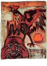 Otto Dix Petrus und der Hahn Peter and the Cock Pierre et le Coq