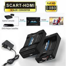 1080p MHL euroconector a HDMI Audio y Vídeo Adaptador del convertidor Smartphone