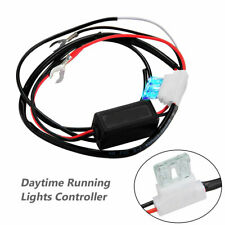 Auto Car LED Daytime Running Light Relay Harness DRL Control Dimmer ON/OFF 12V