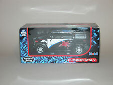2003 MOBIL HUMMER H2 SUV SPECIAL EDITION DIECAST 1:27 THAILAND MINT