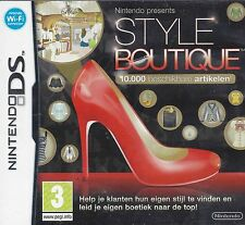 STYLE BOUTIQUE for Nintendo DS - with box & manual
