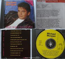 12 Track PROMO CD + Promosheet  __  Michael Morgan  __  SEIT WIR UNS LIEBEN