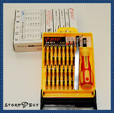 33 in 1 Screwdriver Set PC Hard Drive Printer Xbox 360 Shaver Repair Kit Tools#1