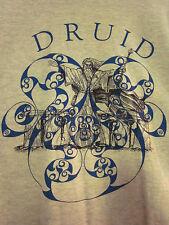 DRUID T shirt large Celtic culture Irish mythology old religion spirituality OG
