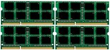 NEW 32GB 4x8GB Memory PC3-12800 SODIMM Dell Precision M6500 Quad DDR3-1600MHz