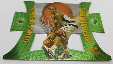 1997 NETBURNERS PRESS PASS DANNY FORTSON #NB11 CINCINNATI BASKETBALL CARD