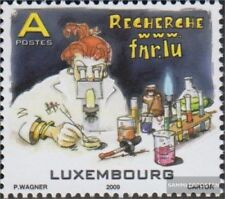 Luxemburg 1837 (compleet.Kwestie.) gestempeld 2009 Forschungsfonds