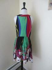 NEW Anthropologie Willow & Clay Dress Summer Sundress Colorful Tank Mini M L