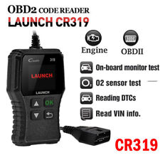 Launch CR319 OBDII Code Reader Check Car Engine Light Fault MIL Diagnostic Tool
