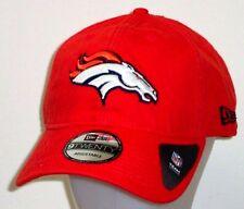Denver Broncos New Era Core Shore Primary Adjustable Slouch Hat / Cap