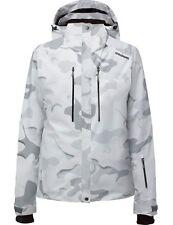 GOLDWIN - G1057L JACKE - Snow Camouflage Print Outer 100 - Damen Skijacke Gr. 42