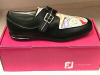 NEW FootJoy Tailored 91651 Womens Golf Shoes Black WATERPROOF 7.5M Were $165