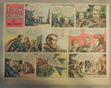 Flash Gordon Sunday Page by Mac Raboy from 11/27/1955 Half Page Size