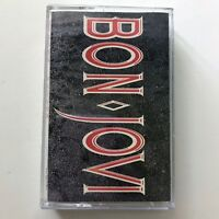 Bon Jovi Slippery When Wet Cassette Tape 1986 PolyGram