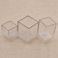 Suqare Shape Candle Mould Cube Molds DIY Crafts Making Soap Chocolate Tools