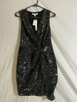 Scarlett Black Sequin Dress Size 6 and 14