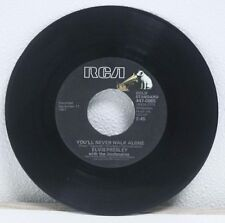"Elvis Presley- We Call on Him/You'll Never Walk Alone- 7"" Vinyl LP RP104"
