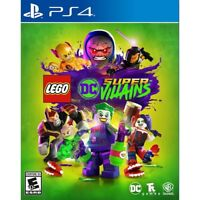 Lego DC Super Villains (Playstation 4) Brand New Factory Sealed