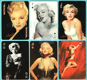 Collectible Playing card/Poker Deck 54 cards of US MOVIE STAR Marilyn Monroe