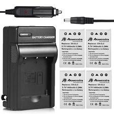EN-EL5 Battery + Charger for Nikon Coolpix P500 P510 P520 P530 P100 P90 P80 S10