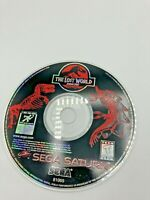 Sega Saturn Disc Only Tested The Lost World: Jurassic Park Ships Fast