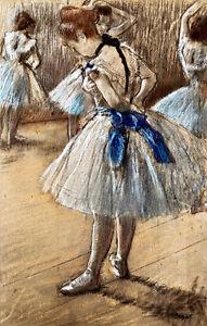 Dancer by Edgar Degas A1+ High Quality Canvas Print