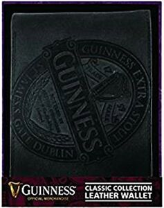 Guinness Classic Collection Black Leather Wallet   (sg)    **MULTI BUY OFFER*